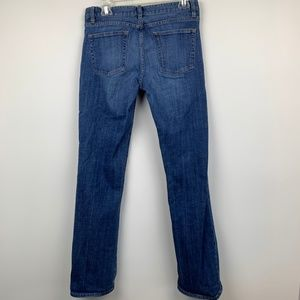 J. Crew Bootcut Jean Blue Denim Stretch Sz 29 R